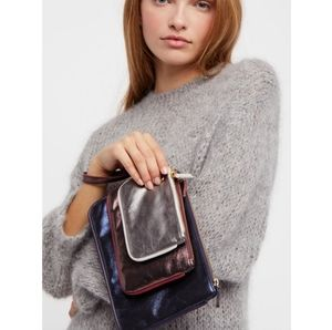 Free People 3-in-1 Faux Leather Wristlets